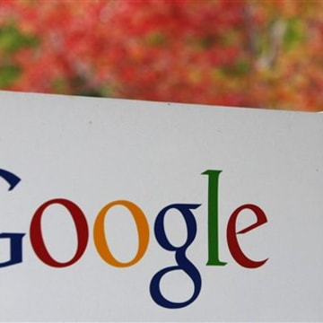 A sign is seen at Google headquarters in Mountain View, Calif., Wednesday, Oct. 14, 2009. Google Inc. is scheduled to report quarterly earnings after ...