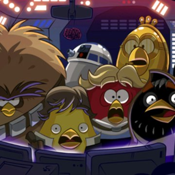 "Rovio is bringing ""Angry Birds Star Wars"" to major consoles this fall, the company announced Thursday."
