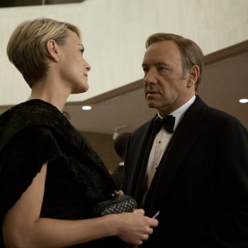 """House of Cards"" received 14 Emmy nominations Thursday."
