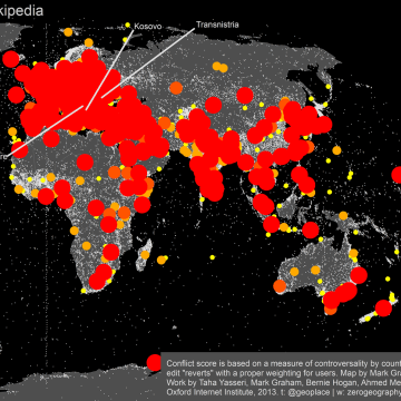 map of edits