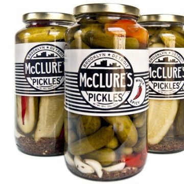 McLure's Pickles moved to Detroit because the warehouse there was so inexpensive.
