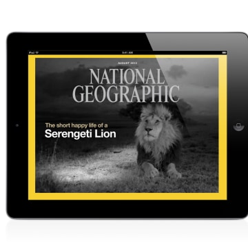 Image of National Geographic web application