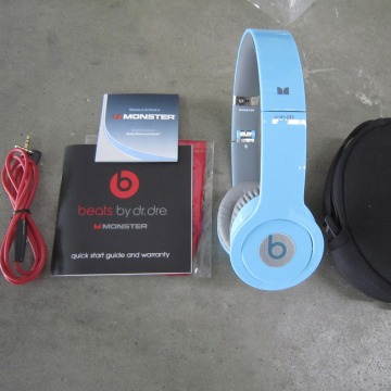 A seized counterfeit pair of Beats headphones are pictured in this handout photo courtesy of the U.S. Customs and Border Protection taken in Los Angel...