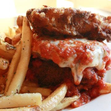 Lasagna bun burger