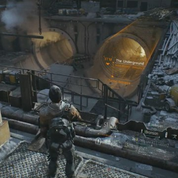 "Ubisoft is currently working on a brand-new massive multiplayer shooter set in a Tom Clancy universe known as ""The Division,"" the company announced today at the end of its E3 press conference."