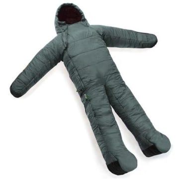 Stay warm all night in this sleeping bag suit.