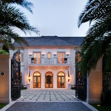 Image: There are fewer mansions available in the richest areas of the country, but this mansion in Palm Beach, Fla. is available for a cool $34.9 million.