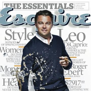 Image: Leonardo DiCaprio on Esquire