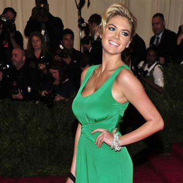 Kate Upton attends The Metropolitan Museum of Art's Costume Institute benefit