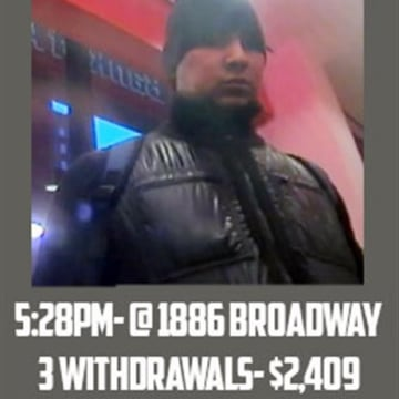 "This Feb. 19, 2013 surveillance image taken from a graphic released by the U.S. Attorney's Office in New York City shows a man identified as ""defendan..."