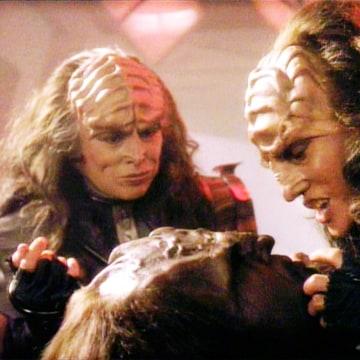 Worf Klingon