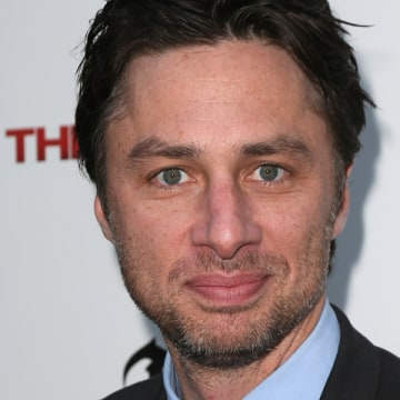 "Former ""Scrubs"" star Zach Braff says he'd return to television if he really wanted to make money, not ""passion project"" indie films."