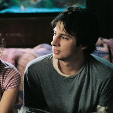 "Zach Braff and Natalie Portman in the 2004 indie film ""Garden State."""