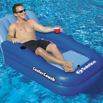 The Cooler Couch Pool Float