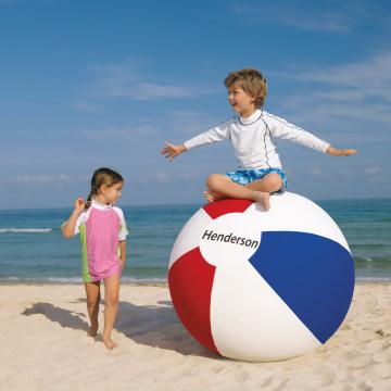 Smaller beach ball.