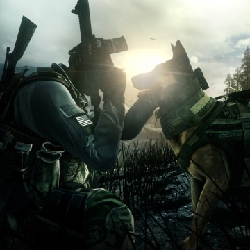 "Activision's latest ""Call of Duty"" game introduced fans to an unexpected star in Riley, the now-famous four-legged hero of the first-person shooter out Tuesday."