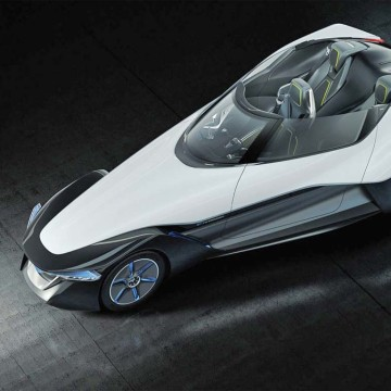 Nissan hopes to take its BladeGlider concept car from the raceway to the highway.