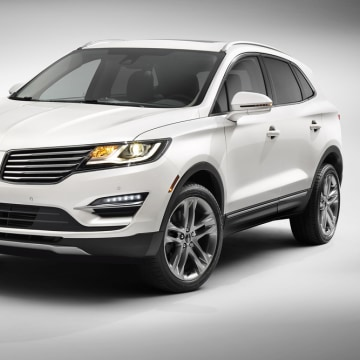 This product image provided by the Ford Motor Company shows the all-new 2015 Lincoln MKC small premium utility vehicle.
