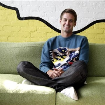 Snapchat CEO Evan Spiegel said his company will hold out for an acquisition until at least next year after walking away from a $3 billion Facebook offer.