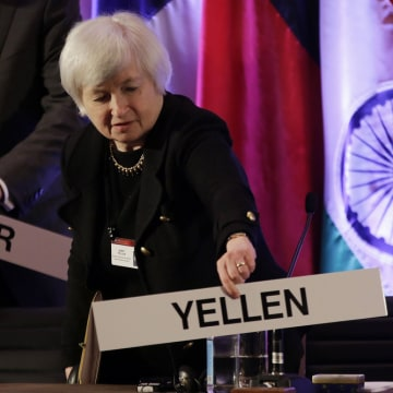 In with the new? Federal Reserve Vice Chair Janet Yellen, who has been nominated to lead the world's most powerful central bank after current chief Be...