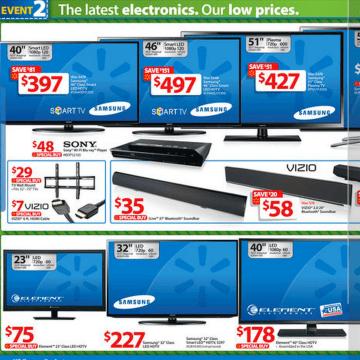 Walmart's Black Friday TV deals