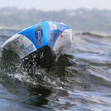 After both its communication trackers failed, Scout the solar-powered bot is out in its own in the open ocean.