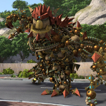 """""""Knack"""" is one of a small handful of titles appearing exclusively on the PS4 at launch. While critics have expressed concerns about the PS4's starting lineup of games, Yoshida maintained that the new system will only get better with age."""