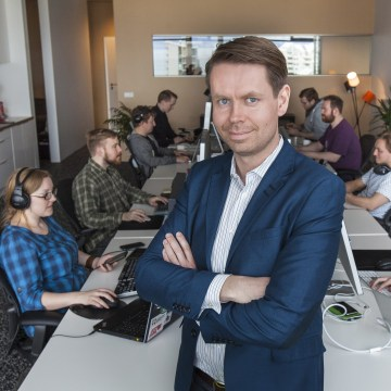 Plain Vanilla Games co-founder and CEO Thor Fridriksson.