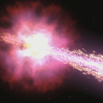 Image: Gamma-ray burst