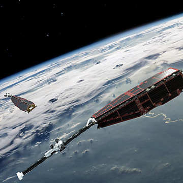 Image: Swarm satellites