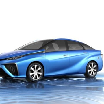 Hydrogen cars, like this concept Fuel Cell Vehicle from Toyota, are getting back into the spotlight.