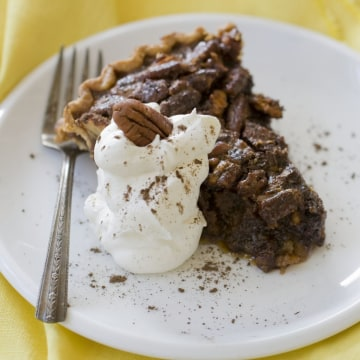 We indulge ourselves because we are really, really good at justifying the things that we want to do -- such as eat that second piece of pie.