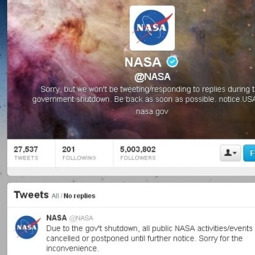 Image: NASA Twitter page