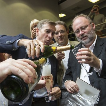 Image: Celebrating a Nobel Prize