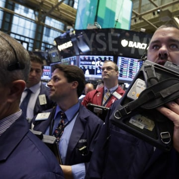 Are things looking up? Stocks jumped on rising optimism that there will be a deal to end the government shutdown and extend the debt ceiling.