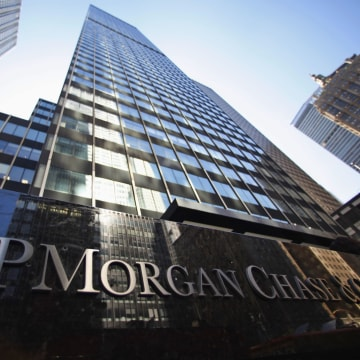 JP Morgan Chase & Co posted its first quarterly loss under CEO and Chairman Jamie Dimon.