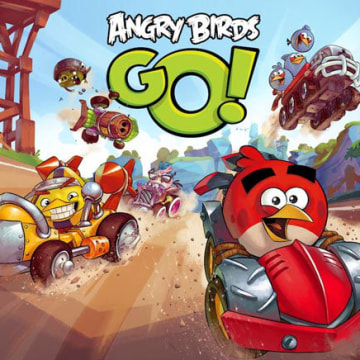 """Angry Birds Go!"" is launching on Dec. 10, developer Rovio Entertainment announced Tuesday."