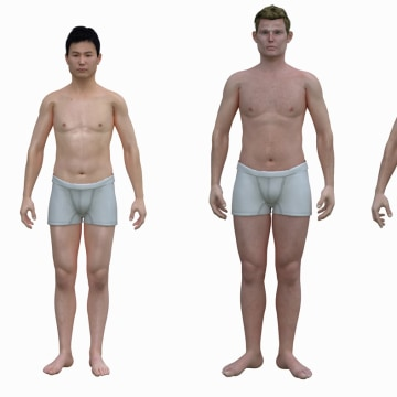 The 'real' shape of the American man: Dudes, you're porky