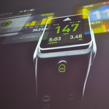 Adidas' GPS-equipped smartwatch