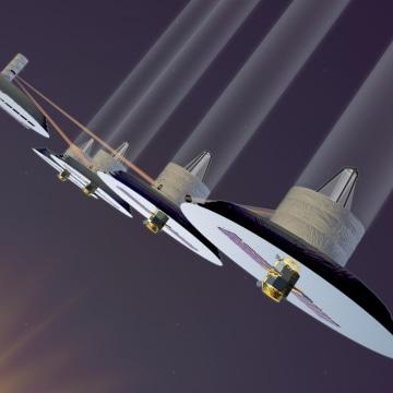 Image: TPF infrared interferometer concept
