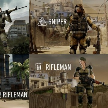 "A breakdown of some of the male versus female soldiers that will appear in the Western version of ""Warface."""