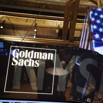 Lunchtime at Goldman Sachs can be an efficient affair, if it's timed right.