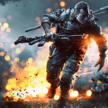 "Electronic Arts launches ""Battlefield 4,"" the latest installment in its line of blockbuster military shooters, on Monday at midnight."