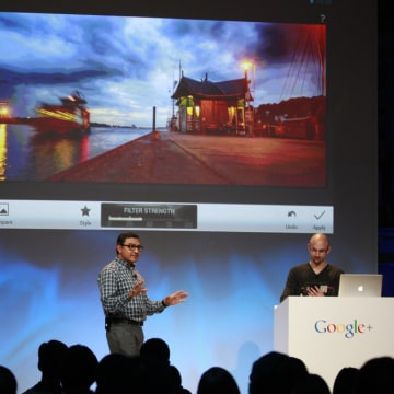 Senior Vice President of Engineering at Google Vic Gundotra speaks about updates to Google Plus in HDR photography