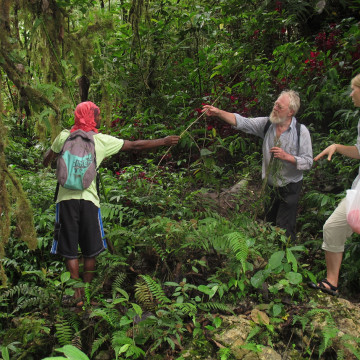 Researchers collect botanicals in Papua New Guinea