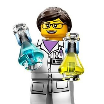 Image: LEGO's new Scientist minifigure