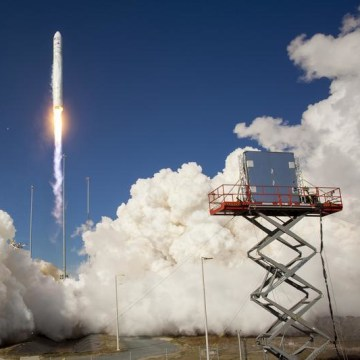 Image: Antares rising