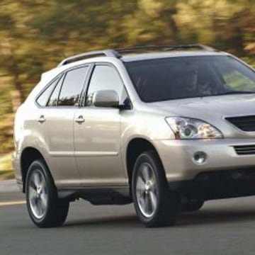 The Lexus RX 400h was previously covered by an unintended acceleration recall.