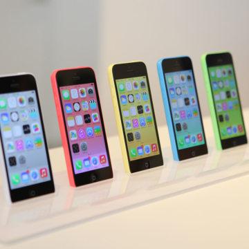 Apple's iPhone 5C lineup