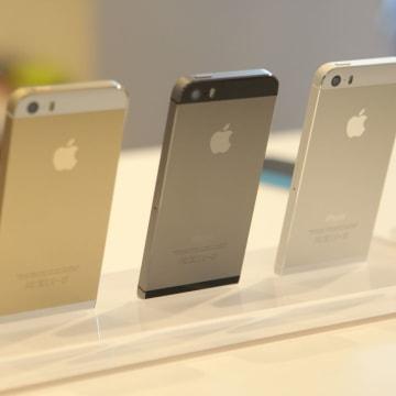 Apple's iPhone 5S lineup